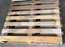باليتات خشبية للبيع بحالة ممتازة