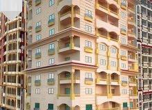 شقق سكنية بمساحة 125 متر بتقسيم قضـايا الدولة بالتقسيط علي سنة ونصف