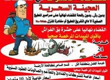 مكافحة حشرات وقوارض خدمة لجميع مناطق الكويت
