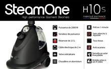 SteamOne, home steamer2000W-2.5L-H10S مكواه بخار 2000 وات صناعه فرنسية