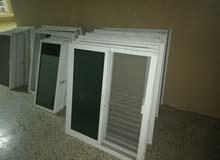 نوافذ المنيوم للبيع عدد 18 نافذه