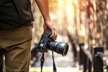 مطلوب مصور محترف