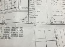 أرض سكنية للبيع في سور الحديد خلف المدرسه عاتكه