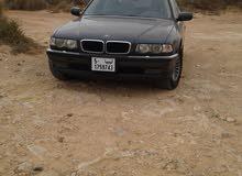 BMW 740 in Tripoli
