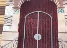 عمارة خمسة ادوار وبيت قديم دورين بطينة طريق المحلة المنصورة