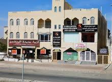 محلات تجاريه مع المخزن في نزوى بمساحه 580متر