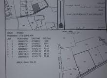 ارض زراعية للبيع في الطريف مساحة 3448م2