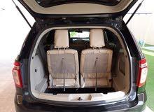 للبيع فورد اكسبلورر 2014 اسود و من الداخل بيج. Ford explorer 2014
