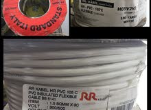 PVC INSULATED FLEXIBLE CABLES and ELECTRICAL CONDUITS