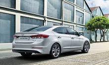 Gasoline Fuel/Power car for rent - Hyundai Avante 2017
