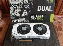 ASUS Geforce GTX 1070 8GB Graphics Card for sale ! كرت شاشه