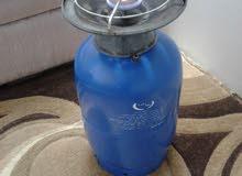 سلندر غاز متوسط الحجم أزرق اللون للبيع