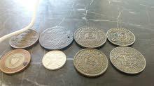 anciennes pièces et monnaies.