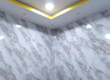 فني تركيب ورق جدران واستيل وفوم وبديل الراخام