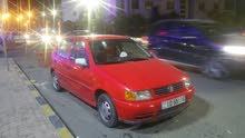 بولو فولسفاغن 1997 بأربعة آلاف ونصف- ممكن تبديلها بسيارة كشف أوتوماتيك ودفع الفرق