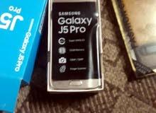 اسلام عليكم جهاز J5pro جديد لون ذهبي  بصمة  ذاكرة32