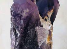 للبيع حجر جمشت (amathyst )  1.5kg