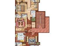 للبيع 6 غرف فاخرة بالزهراء بالتقسيط من المالك مباشرة