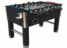 Soccer Table MDF Black Heavy