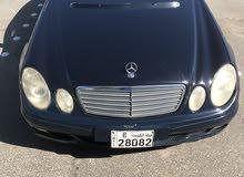 للبيع مرسيدس  E240 موديل 2004