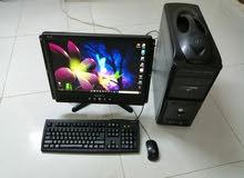 كمبيوتر مكتبي نظيف ماشاء الله تبارك الله