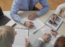 مدير حسابات - مدقق حسابات يبحث عن دوام جزئي او زيارات