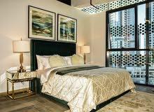 ادفع 55 الف وامتلك شقة غرفة وصالة وسط دبي  وقسط على 5 سنوات دون فوائد دون بنوك