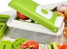 اداة تقطيع الخضراوات والفواكه الاصلية بسعر مميز ولمدة محدودة توجد خدمة توصيل
