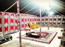 البيع مخيم مع هاف لوري المخيم مخزن في مزرعه في العبدلي داخل مبني