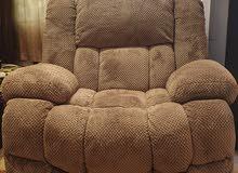 Raklon Single Recliner Sofa, Brown