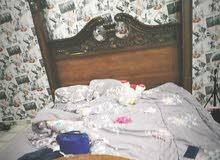 سرير بو نفرين كبير مستعمل استعمال بسيط للبيع