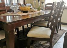 طاولة سفرة 8 مقاعد