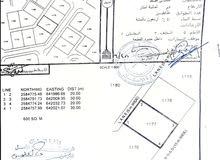 للبيع ارض سكنية العامرات مدنية النهضة مربع 14/1