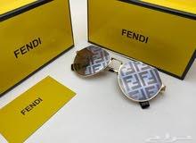 نظارات ماركه فندي درجه اولى صناعه ايطاليه شامل شنطه وتوصيل مجاني