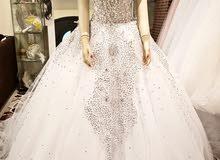 never used new wedding dress