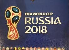 ألبوم وملصقات كأس العالم 2018