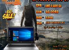 لبرامج ال 3D والالعاب HP PROBOOK 455 G1جيل رابع AMD A4 4300 ( خصم خاص للكميات )