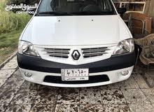White Renault Logan 2017 for sale