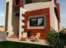 تصميم خرائط وواجهات منازل 3D