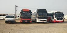 تتوفر حافلات الأجار 50 و 30 و 15 راكب مع السايق