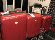حقائب سفر جديدة للبيع ماركة فرنساوية