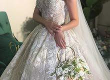 بدلة عرس ملوكية - فستان عرس ملوكي ( جديد ) (غير ملبوس) احدث موديل