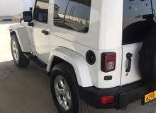 White Jeep Wrangler 2009 for sale