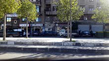 محل في البرامكة مقابل مشروع الابراج على الشارع العام