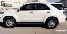 Toyota Fortuner 2014 for rent per Month