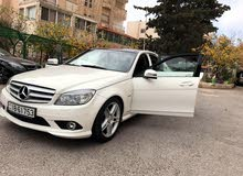 White Mercedes Benz C 200 2011 for sale
