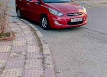 Hyundai Accent 2012 For sale - Red color