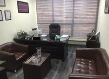 مكتب تمليك مجهز ومفروش للبيع
