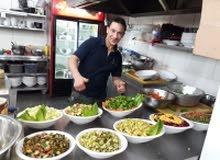 شيف مقابلات شيف مطبخ اطالي مكروات بيدزه