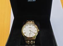ساعة رجالي سويسرية كوارتز نوع (JOVIAL) اصلية غير مستعملة